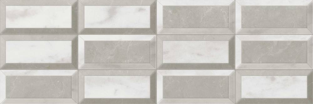 Marmorea Ceramic Marble Wall Tile - Carrara gris porcelain tile