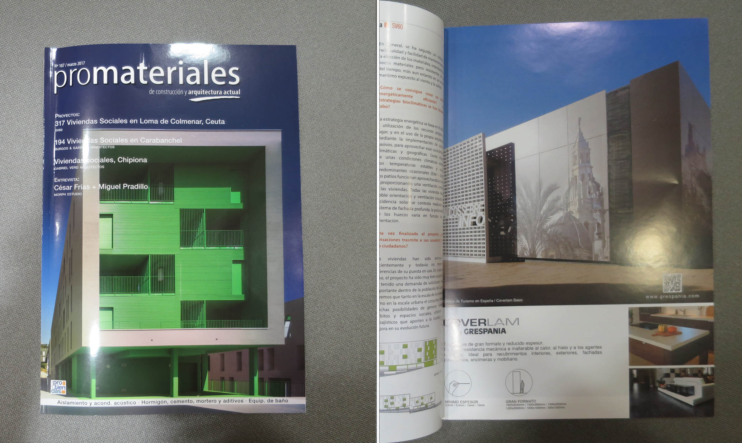Promateriales nº 107 marzo 2017