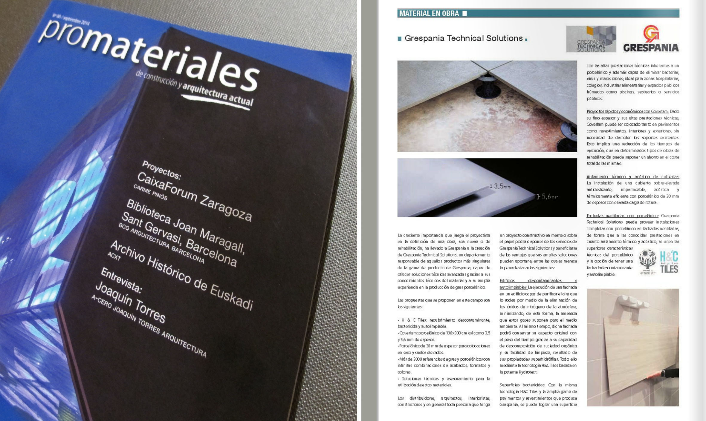 PROMATERIALES Nº 80 Sept 2014