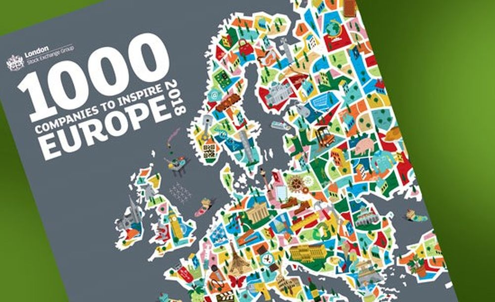 "Grespania in ""1000 companies to inspire Europe 2018""."