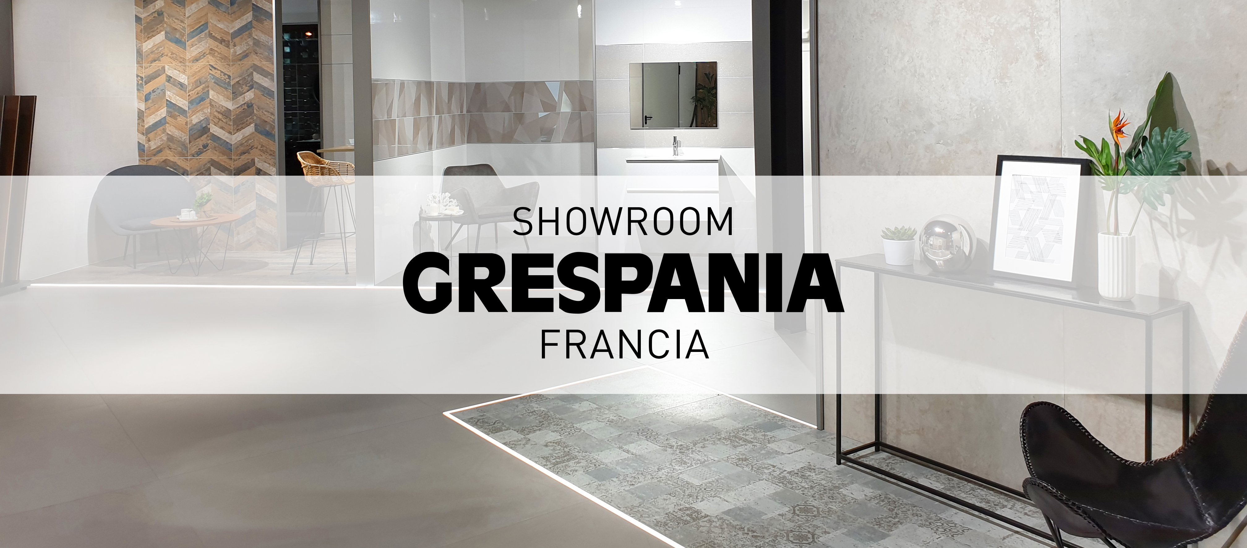 GRESPANIA FRANCIA RENUEVA SU SHOWROOM