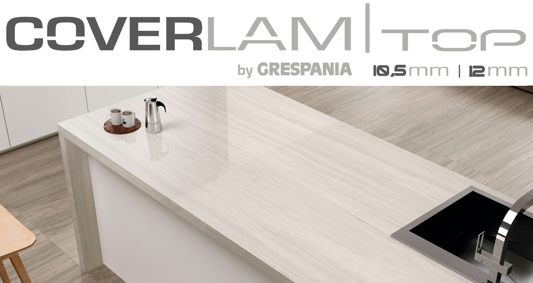 COVERLAM TOP AT CERSAIE 2017
