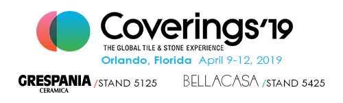 EL GRUPO GRESPANIA EN COVERINGS 2019