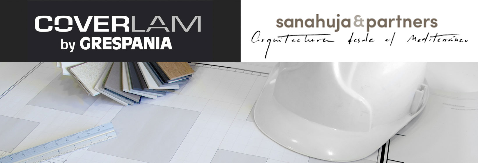 GRESPANIA PUTS THE FINISHING TOUCHES TO ITS NEW SHOWROOM DESIGNED EXCLUSIVELY FOR COVERLAM.