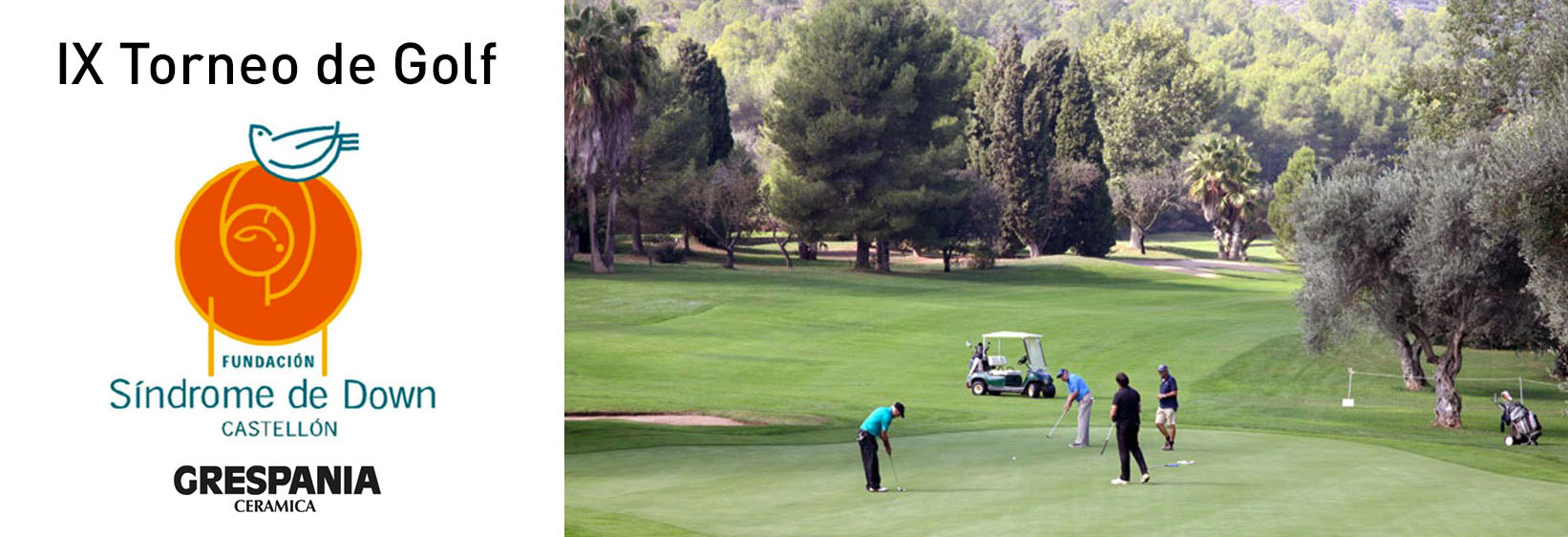 Golf Tournament for Down Syndrome Castellón
