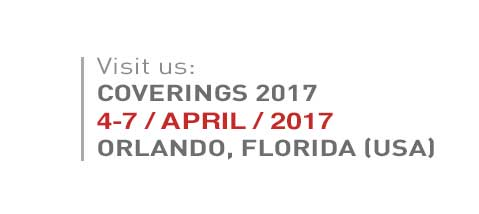 SEE YOU SOON AT COVERINGS'17!