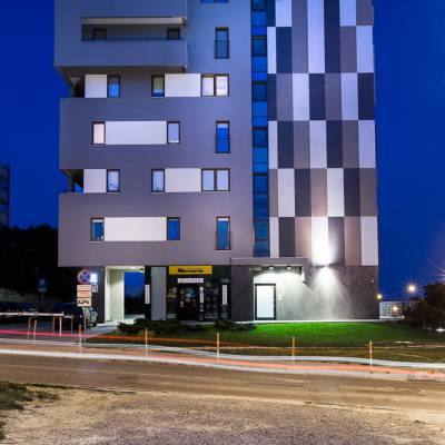 Residential building block poland