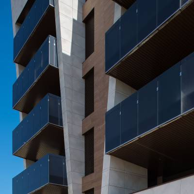 Residential building block, Spain